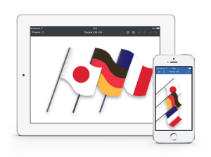 Tracker iOS is Now Available in Japanese, German, and French blog post featured image