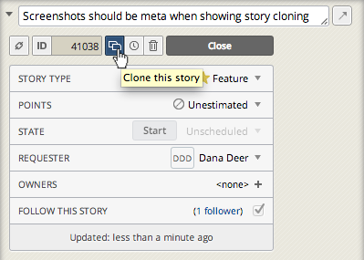 New in the Tracker Beta: Attack of the (Story) Clones! blog post featured image