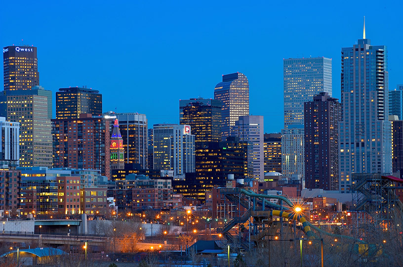 Picture of downtown Denver