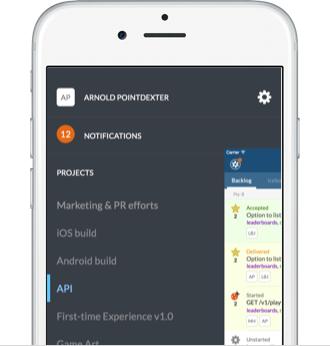 The Pivotal Tracker iOS app