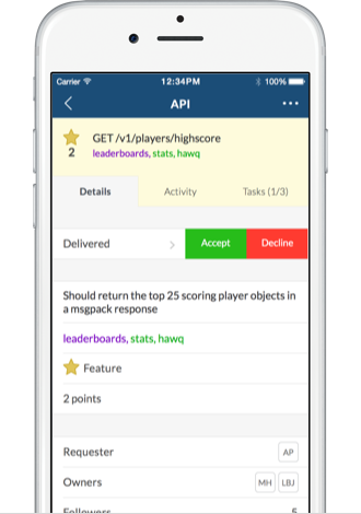 Auto updates in the Pivotal Tracker iOS app