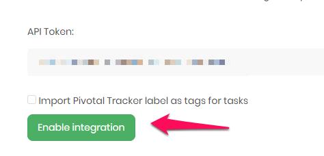 TimeCamp integration setup - step 5