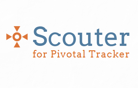 Scouter  logo for Pivotal Tracker integration